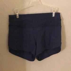 Lululemon Women's Speed Up Shorts (navy)